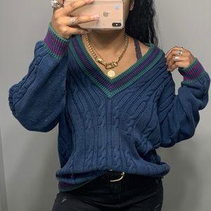Vintage 90's Chaps Ralph Lauren V Neck Sweater